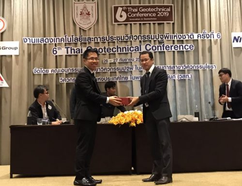 6th Thai Geotechnical Conference – Innovation in Geotechnical Engineering